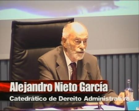 Alejandro Nieto García. - I Foro sobre Empleo Público